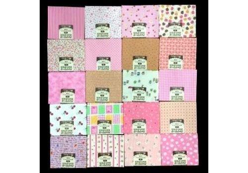 Cut cloth A pink type 50x55cm