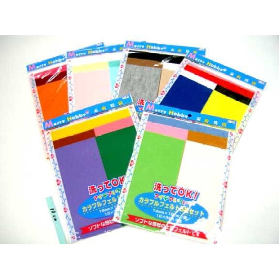 Colorful felt 5p set-1
