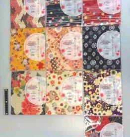 Pika Pika Japan Futakoshi chirimen craped fabric cloth flower