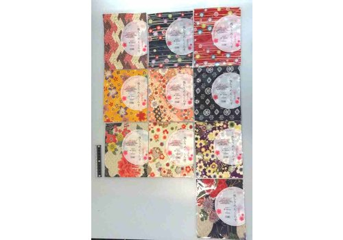 Futakoshi chirimen craped fabric cloth flower