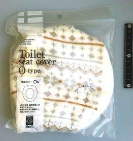 Pika Pika Japan Toilet seat cover O shape Northern Europe pattern IV : PB