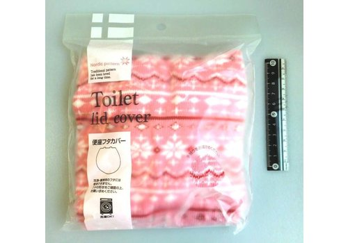 Toilet lid cover Northern Europa pattern PK : PB