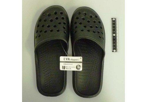 EVA slippers L black