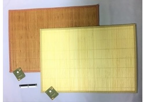 Bamboo mat 50 x 35cm : PB
