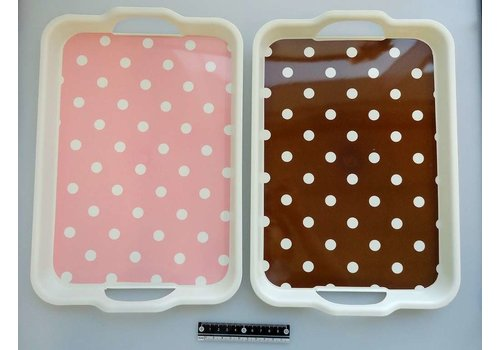 PP tray with handle : PB