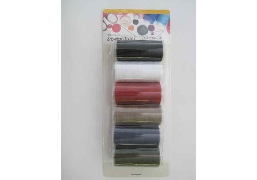 Color sewing thread 6p : PB
