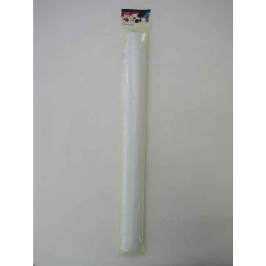 Color felt fabric 50 x 50cm white : PB-1