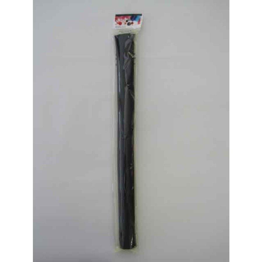 Color felt fabric 50 x 50cm black : PB-1