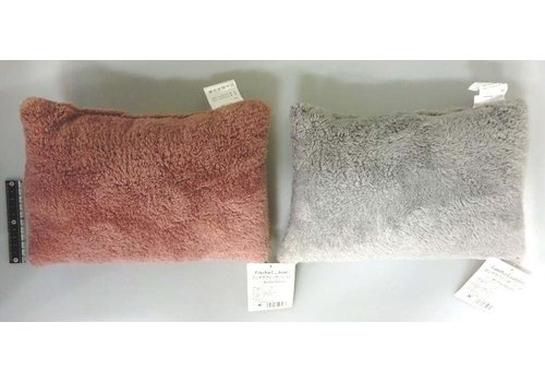 Fake fur cushion A