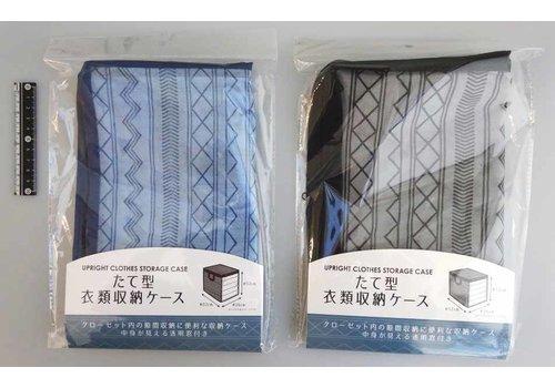 Vertical cloth storage bag