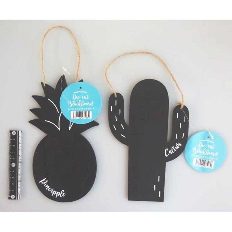 FL die-cut black board ornament-1