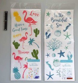 Pika Pika Japan FL wall sticker mid summer pattern