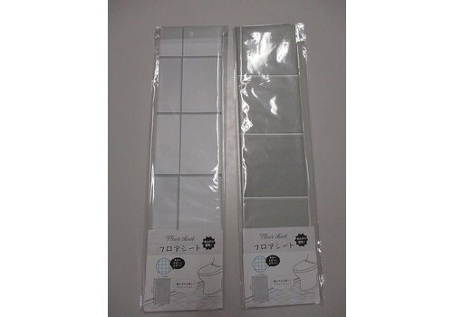 Toilet floor sheet
