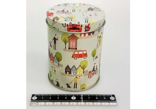 Stand tin plate can ?7.5 x 10cm
