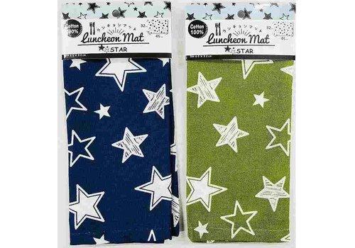 Luncheon mat (star pattern)