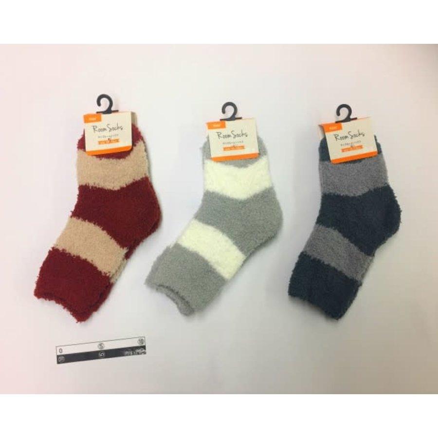 Kids fluffy socks border-1