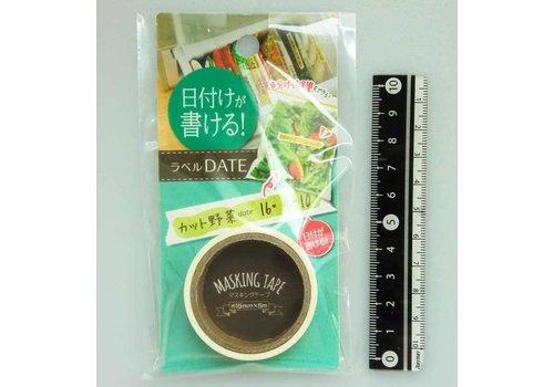Masking tape label date