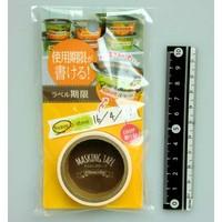 Masking tape label expire date