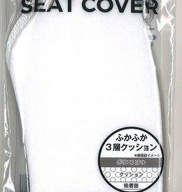 Pika Pika Japan 3 layered cushion toilet seat sheet white