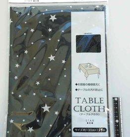 Pika Pika Japan Table cloth star BK