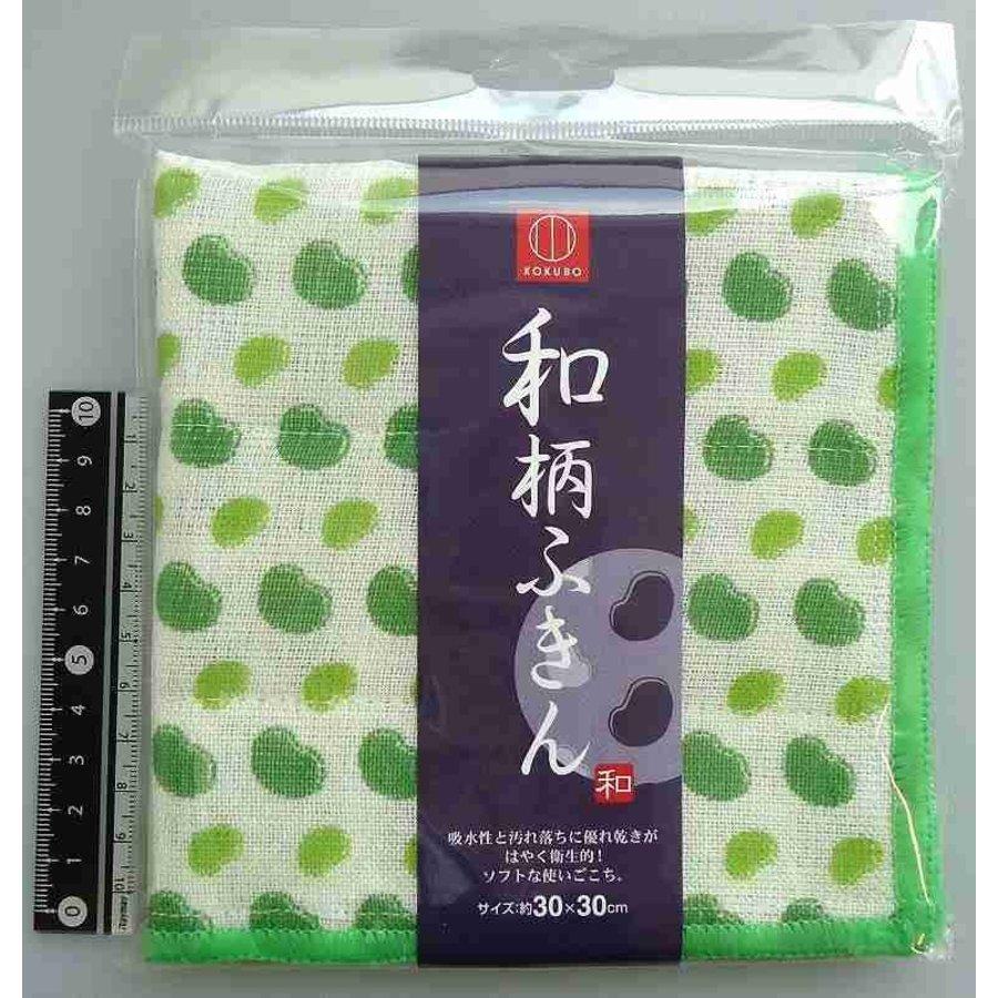 Japanese pattern duster fava bean-1