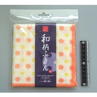 Japanese traditional pattern duster polka dot