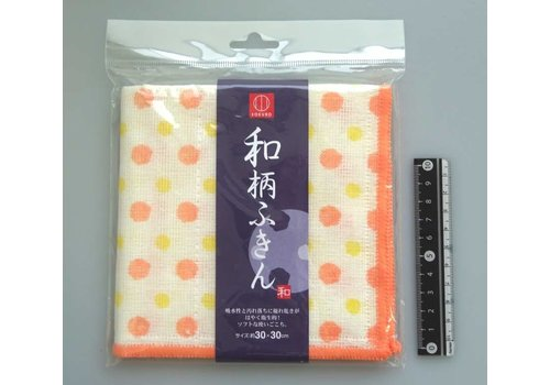 Japanese-style towel dots