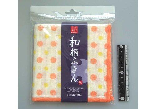 Japanese traditional pattern duster polka dot
