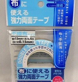 Pika Pika Japan Strong double side tape for cloth 15mm x 4m