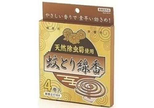 Natural mosquito coil 4p