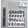 Iron transfer sheet mat small letters a to m