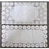 Pika Pika Japan Drawnwork like PVC mat square 40x83cm