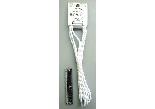 Anti-loosen up shoe strings white