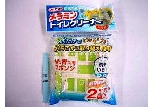 Melamin sponge for toilet