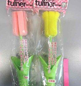 Pika Pika Japan Tuliner cup washer sponge and stick