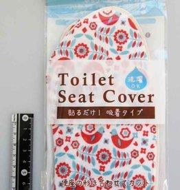 Pika Pika Japan Printed toilet seat sheet Nothern Europa bird pattern
