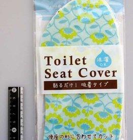 Pika Pika Japan Printed toilet seat sheet Nothern Europa flower pattern