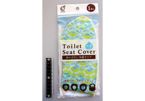 ?Printed toilet seat sheet Nothern Europa flower pattern