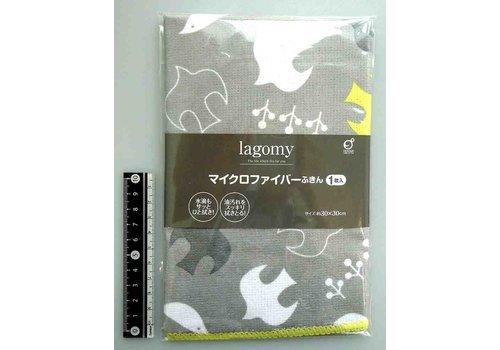 Lagomy microfiber cloth bird