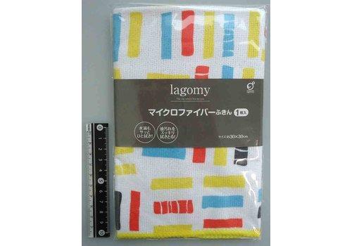 Microfiber cloth block