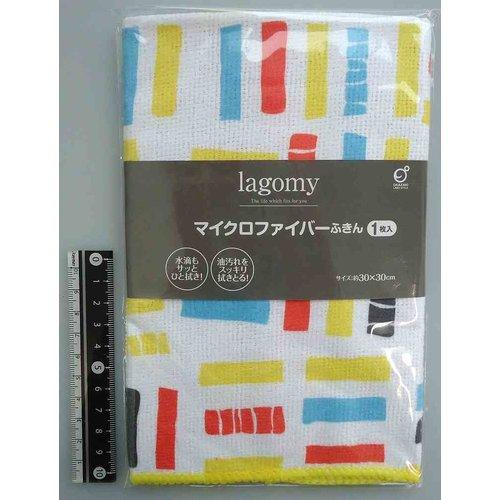 Lagomy microfiber cloth block