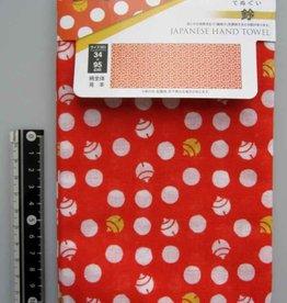 Pika Pika Japan Tenugui hand towel bell