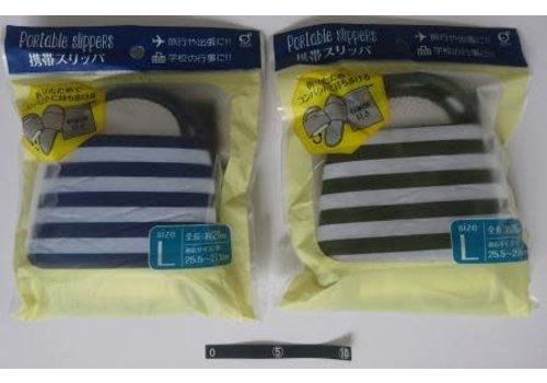 Portable slippers L border