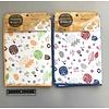 Pika Pika Japan MF drain mat hedgehog & forest pattern