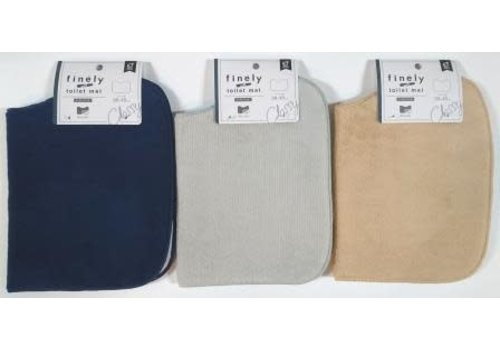 FINELY toilet mat square type NV, GR, BE