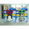 Scissors with magnet penguin motif