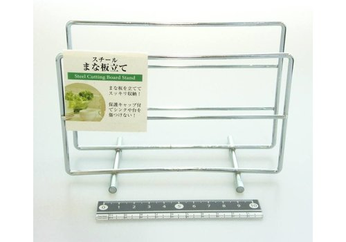 Stainless steel cooking board stand