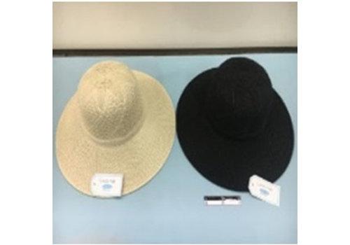Lace hat wide brim : PB