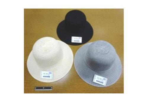 Folding lace hat