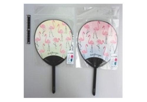Mini fan 2p cactus, flamingo